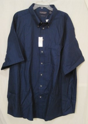 New Button Down Casual S/S Shirt Size 4X 4XL Big Mens Clothing 927351
