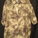 Silk Tall Button Down Casual S/S Shirt Size 2XLT 2XT Big Tall Mens Clothing 927071
