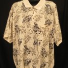 Leaf Design Oak Creek S/S Pull Over Shirt Size 4XL 4X 4XB Big Men's Clothing 923741