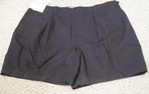 New Navy Blue SHORTS Size 50 Elastic Waist Big Mens Clothing 927001