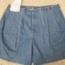 New  Blue Denim Walking SHORTS Size 46 Big Tall Men's Clothing 926661 2
