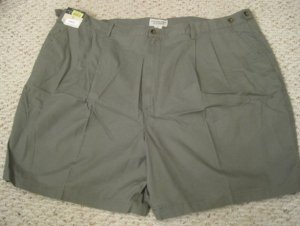New Green SHORTS Size 50 Elastic Waist Big Mens Clothing 926531