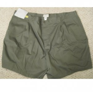 New Pleated Front Basil SHORTS Size 54 Big Mens Clothing 927471