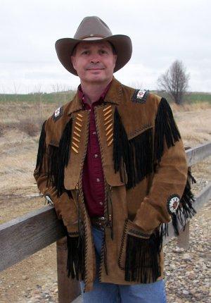 NEW Custer Southwestern Indian Jacket Big Men's Western Coat Size 5X