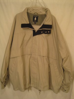 Windbreaker Jacket Putty Navy 3XB 3X Big Tall Men's Clothing 938161