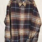 Flannel Button Down Shirt Long Sleeve 4X 4XB 4XL Big Tall Mens Clothing 938671
