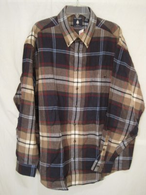 Flannel button down shirt long sleeve 4x 4xb 4xl big tall for Large tall flannel shirts