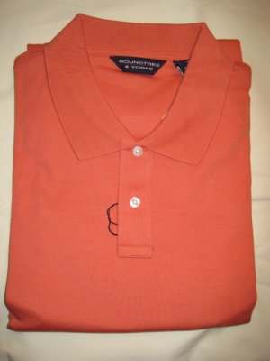 New Ginger Polo Golf Shirt S/S Size 3X 3XL Big Tall Mens Clothing 925451