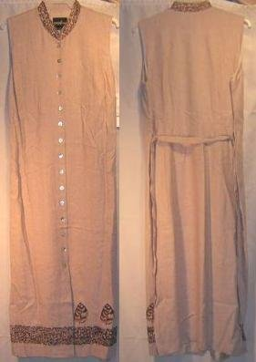 New Brown Tan Sheath Tunic Dress Size 24 24w Tall Plus Size Women Clothing 490051