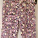 New Black White Fruity Capri Crop Pants Size 1x 18 20  Plus Size Women Clothing 490021-2