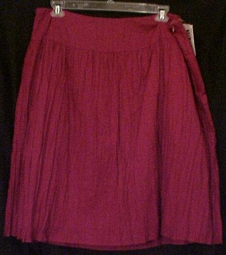 NEW Fushia Pink Broomstick Skirt Size 22W Plus Size Women Clothing H400211