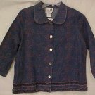 New 2 pc Embrodiered Denim Jean Dress Jumper Jacket 1X 14 16 Plus Size Women Clothing H400491-4