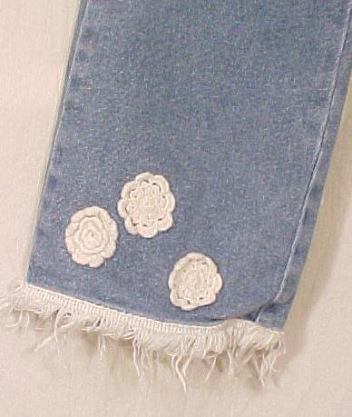 New Carole Little Sport Denim Capri Jean Jeans Size 10 Petite 10P 811261