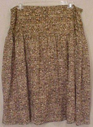 New Tan Brown Skirt 24W 24 Plus Size Women Clothing 811691-2