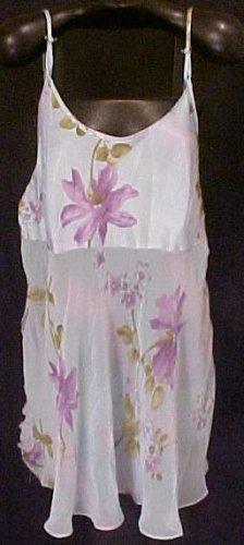 New 2 pc Blue Floral Lingerie Size 3X 22W 24W Plus Size Women 200661