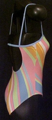 New Size 6 Ralph Lauren One piece Swimsuit Bathing Suit Swim 1 pc 200601