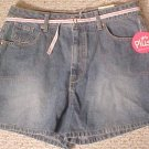 New Arizona Blue Denim Shorts Size 18.5 18+ Plus Size Girls Fashions 200391