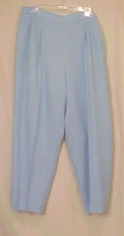 NEW Judith Hart Blue Pants Size 16W Plus Size Women Clothing 402881