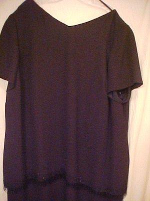New Elisabeth Black Formal Dress size 24W Plus Size 24 - 403611