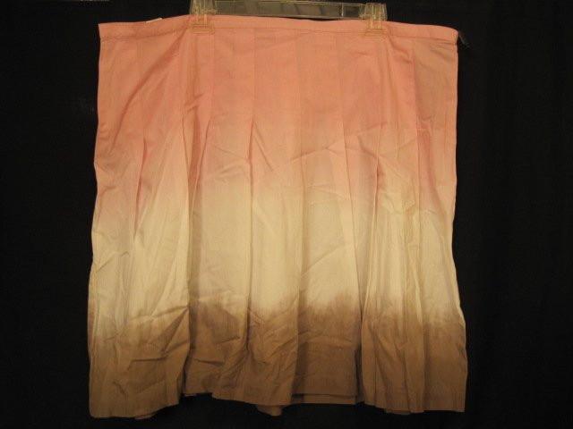 Daisy Fuentes Tri-Colored Pink Skirt Size 20W 20 Plus Size Women Clothing 201841
