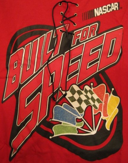 New Nascar Built for Speed T-Shirt Size 22 24 Plus Size Women Clothing 201971