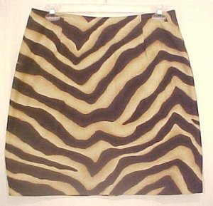 New Ralph Lauren Animal Print Skirt Size 16W 16 Plus Size Women Clothing 202121