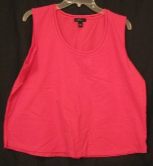 New Emme Secret Garden Tank Top Size 1 14 16  Plus Size Women's Clothing 200171