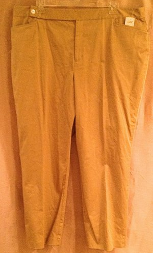 NEW Ralph Lauren size 22w Khaki Dress Pants Womens Plus Size 025