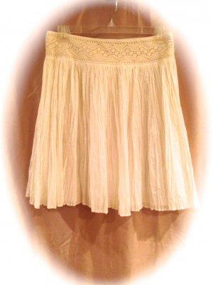 NEW Antonio Melani size 10 Cotton White Peasant Skirt Fashions For Her 001