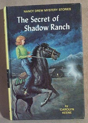 Nancy Drew THE SECRET OF SHADOW RANCH #5 Yellow Spine Hardcover  YSHC Carolyn Keene  H0318