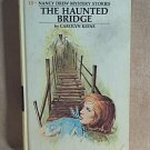 Nancy Drew THE HAUNTED BRIDGE  #15 Yellow Spine Hardcover YSHC  Carolyn Keene  H0423