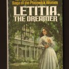 LETITIA, THE DREAMER  Saga of the Phenwick Women  by Katheryn Kimbrough Book #35 PB s1659
