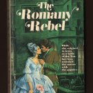 THE ROMANY REBEL  Zabrina Faire  Warner Library of Regency Romance #7 Walter Popp   s1663