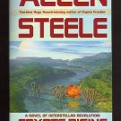 Coyote Rising by Allen Steele - First paperback Edition, First Printing  Ron Miller Art  s1836