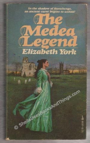 The Medea Legend by Elizabeth York gothic romance  s1670