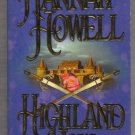 Highland Vow by Hannah Howell - First Edition, First Printing - Murray Brothers Trilogy   s1567