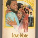 Love Note by Barbara Howard  Holloway House Heartline Romance BH094  s1155