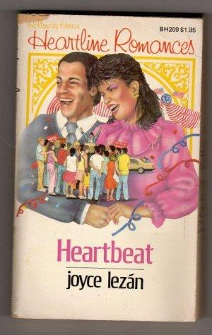 Heartbeat by Joyce Lezan  a Holloway House Heartline Romance BH209  s1163