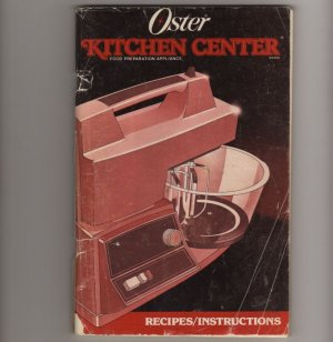Oster Kitchen Center Recipes / Instructions lots of creative ideas and recipes  s1754