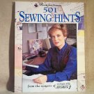 501 SEWING HINTS from the viewers of Sewing with Nancy  by Nancy Zieman softcover s2000495