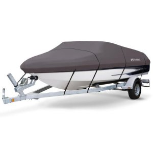 Stearns Storm Pro Boat Cover 14-16 ft V-Hull Fish Boats - 88918