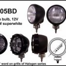 "4"" Black Round 100W Super White Driving Light"