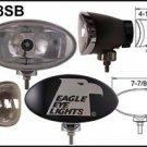 "8"" Black Oval 55"" Super White Spot Lights Set"