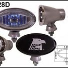 """4.5"""" Silver Oval 100W Super White Driving Lights Set"""