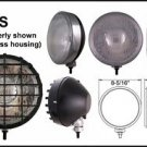 "9"" Stainless Round 100W Driving Lights w/ Black Grille"
