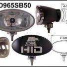 """Eagle Eye Black 8"""" HID Oval Spot 50W Light"""