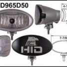 "Eagle Eye Silver 8"" HID Oval Driving 50W Light"