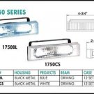 "5"" Black Rectangular 55"" Blue Driving Lights Set"