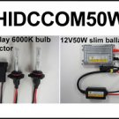 2011 Can AM Commander 50W HID Headlight Conversion Kit