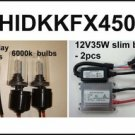 2008-12 Kawasaki KFX450 HID Headlight Conversion Kit